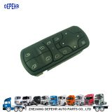Zhejiang Depehr Heavy Duty European Tractor Window Lifter Switch Benz Truck Power Window Swith 9438200097