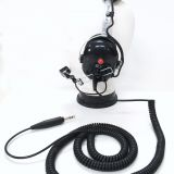 Roll over image to zoom in YS-DM-H3335 Aviation Headset Noise Reduction Headphones for Aircraft Ground