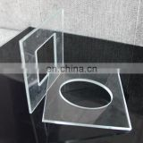 Electronic wall switch glass panel, Tempered clear glass light switch glass plates, electrical touch switch glass