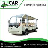 Attractive and Affordable Series of 14 Seater Electric Sightseeing Bus for Tourists and Other Commercial Uses