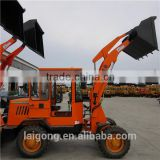 1 ton small grapple log loader and spare parts , new min sugarcane loader with trailer