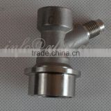 "Keg Ball Lock Stainless Steel Quick Disconnect Gas Valve with 1/4"" MFL fitting for Beer or Soda Homebrewing"