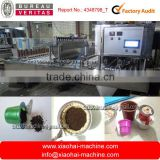 automatic coffee capsule K cup filling and sealing machine for nespresso capsules,, V cup, Lavazza capsules