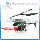 Mini Qute RC remote control flying 3.5 channel Projectile helicopter Quadcopter Educational electronic toy NO.V398