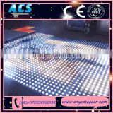 2015 ACS hot sales New design no dark area portable dance floor