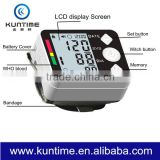 alibaba.com Home Use Automatic Digital wrist Blood Pressure Monitor Lcd Display Heart Beat Meter