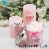 Online /Tea lights & Candle Holder With Lids /Glass Votive Holder With Wax For Wedding & Home