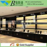 Black antique wall display cabinets for sale, retail shop counters
