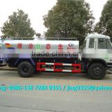 Euro 3 or Euro 4 New water tank sprinkler truck, 10-15T garden water sprinkler with water spray