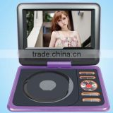 wholesale <b>7</b> inch widescreen 16:9, 2<b>7</b>0 degree rotating shaft <b>portable</b> <b>dvd</b> player