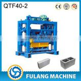 QTF 40-2 manual fly ash brick making machine for industrial machinery price in india FULANG BRAND