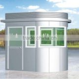 2014 Mobile prefab security booth,Nice Looking EPS Sandwich Panel kiosk booth,Low cost and beautiful prefab security booth