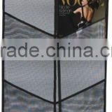 single/double row netted brochure stand