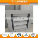 Foshan Factory aluminum extrusion profile Aluminum Alloy Material aluminum slats for roller shutters window