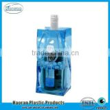 Fashion design clear PVC Plastic ice bag for wine promotion                                                                         Quality Choice                                                     Most Popular