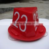 magnetic numbered cones with suction cup for Auto work service