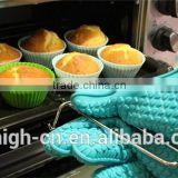 Wholesale cheap silicone rubber oven mitts funny oven mitts