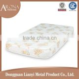 promoted innerspring cheap fire retardant water resistant cot bed baby crib mattress for baby
