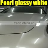 Glossy pearl white vinyl sticker matte film with high quality 100% Guarantee factory wholesale