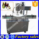 Shanghai supplier automatic bottle capping machine,glass bottle metal cap capping machine                                                                                                         Supplier's Choice
