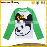 2016 new design printing cartoon cute autumn long sleeve t shirt for kids                                                                                                         Supplier's Choice