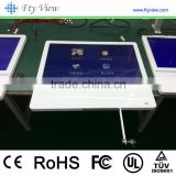 21.5 inch digital touchscreen AD lcd display,USB card wall mounted touch screen kiosk,table design touch                                                                                                         Supplier's Choice