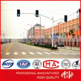 Double Arms Galvanized and Powder Coated Traffic Signal light Steel Structure Pole                                                                         Quality Choice