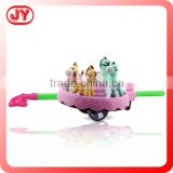 Cheap price interesting plastic push toy for child