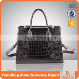 5132 - 2016 Paparazzi brand women's elegance handbags designer crocodile synthetic leather handbags online shopping