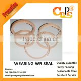 Excavator hydraulic jack seal wearing wr seal factory price
