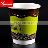 Eco friendly double wall paper cups for coffee