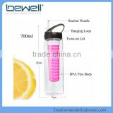 Best Seller 2016 Amazon Fruits Infuser Sport Water Botle Copper Water Bottle Private Label Water Bottle                                                                         Quality Choice