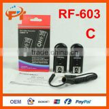 Yongnuo RF-603 2.4GHz Radio Wireless Remote Flash Trigger For Canon and Nikon