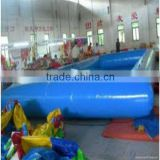 huge inflatable swimming pool