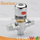 DN15(G1/2) Brass Thermostatic Mixing Valve, Adjust the Mixing Water Temperature Thermostatic mixer