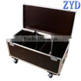 Durable and shatterproof aluminum tools storage box, metal tool box with wheels (ZYD-GJ8715)