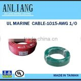 UL 1015 AWG1 PVC coated underwater insulated electrical Cable wire