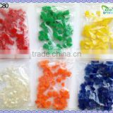 Factory Supplier Flowers Vase Water Beads Square Crystal Soil In Wholesale