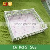 Wedding practical useful decorative food basket tray for serving storage tray wholesale                                                                         Quality Choice