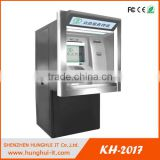 self service auto bank kiosk money exchange machine with banknote acceptor /currency exchange machine/coin exchange machine