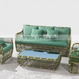 modern bamboo look wicker garden furniture                                                                         Quality Choice
