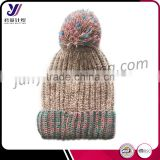 Factory wholesale sale fashionable wool felt knitted hats and caps (Accept the design draft)