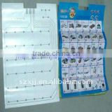 Electronic wall chart PET matrial 5K ohm Flexible circuit membrane switch