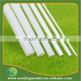 ABS plastic model scale rod stick in 3mm