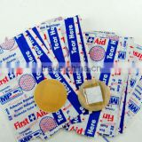 MH02-2 Round Disposable PVC Waterproof First Aid Adhesive Bandage Medical Wound Adhesive Plasters