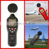 2016 High accuracy 30~130dB digital precision sound level meter for bar TL-202