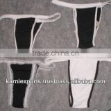 girls beautiful panties 100% cotton lingeries and swimwear product front closure panty