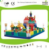 Beach castle/park inflatable bouncy castle/outdoor inflatable play structure
