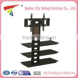 China wholesale glass lcd tv base stand bracket