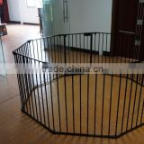 2015 baby playpen with 7pcs frame door keep your baby stop some dangerous sth like that fire
